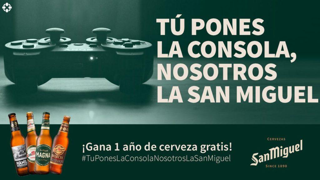 Concours: Vous mettez la console, nous San Miguel