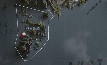Îles venteuses