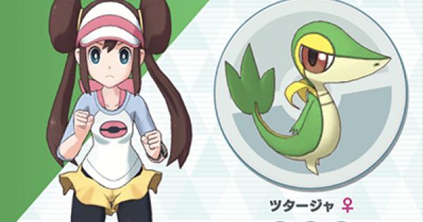 Masters Pokémon | Rosa & Snivy – Sync Pair Statistiques et mouvements