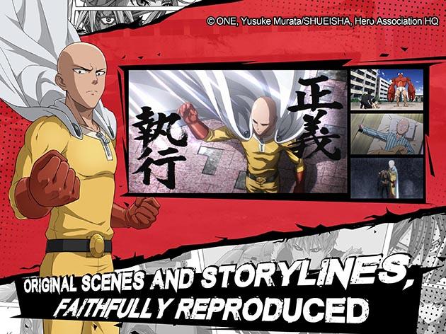 Capture d'écran de One Punch Man: Road to Hero