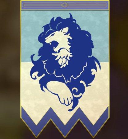 Lions bleus