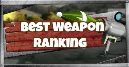 Meilleur rang de niveau d'arme