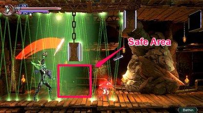 Positionnez-vous là où le laser a gagné