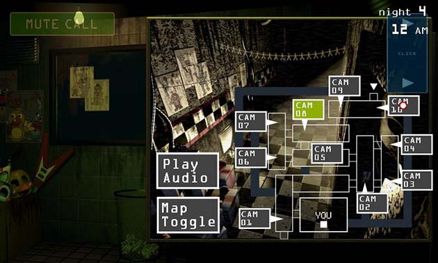Cinq nuits chez Freddy 3 screenshot 2