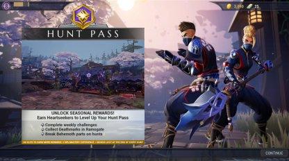 Gagnez des récompenses exclusives avec le Hunt Pass