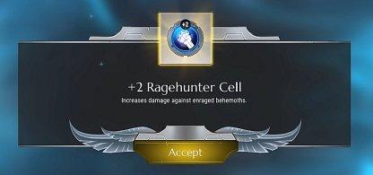Façon d'améliorer les cellules dans Dauntless