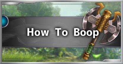 Comment faire pour boop - Liste d'interruption Behemoth & Guide