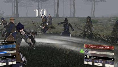 Vaincre le mage pour lever le brouillard du champ de bataille