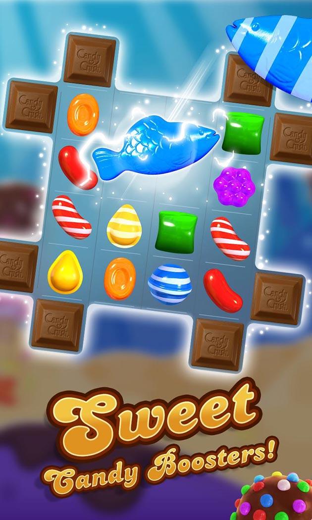 Candy Crush Saga capture d'écran