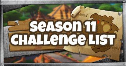 Liste des défis