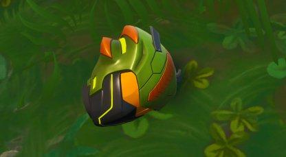 Emplacement du casque Singularity Rex Style