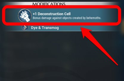 Utilisez la cellule de déconstruction pour détruire les tourelles