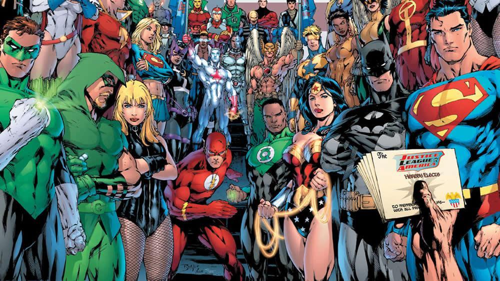 DC Comics montre sa nouvelle chronologie officielle