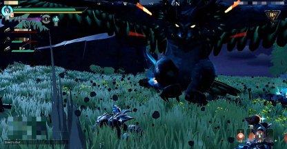 Moonreaver Shrike est plus grand et a suivi attaque