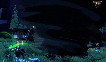 Moonreaver utilise le tornade comme feinte
