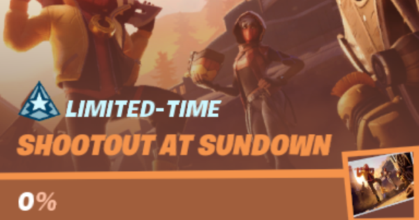 Shootout au coucher du soleil