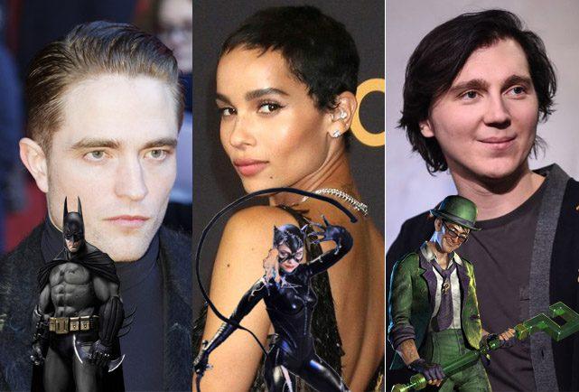 Batman a confirmé Batman, Catwoman et Riddler