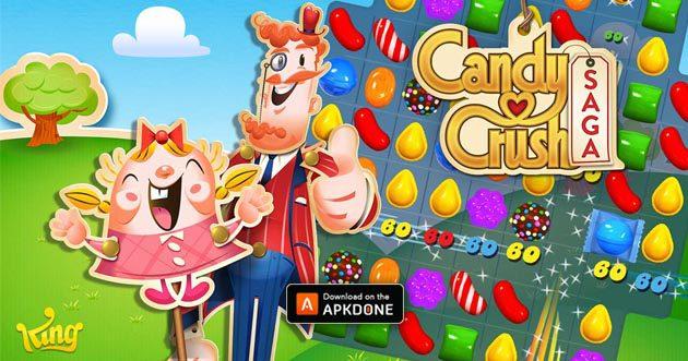 Candy Crush Saga MOD APK 1.162.1.1 (Unlocked) pour Android – Télécharger