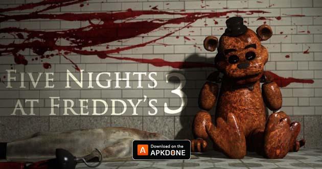 Cinq nuits chez Freddy 3 MOD APK 1.07 (débloqué) Télécharger pour Android