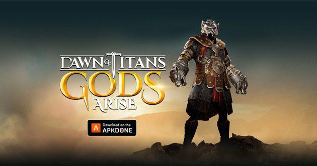 Dawn of Titans MOD APK + OBB Data 1.35.1 (Gemmes illimitées) Télécharger