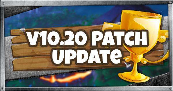 10.20 Patch Update