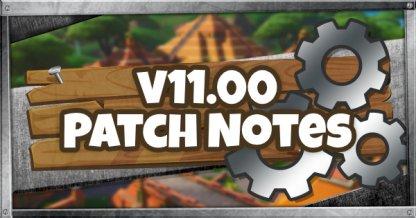 11.00 Notes de patch