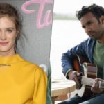Mackenzie Davis et Himesh Patel fichan pour la Eleven Station de HBO Max