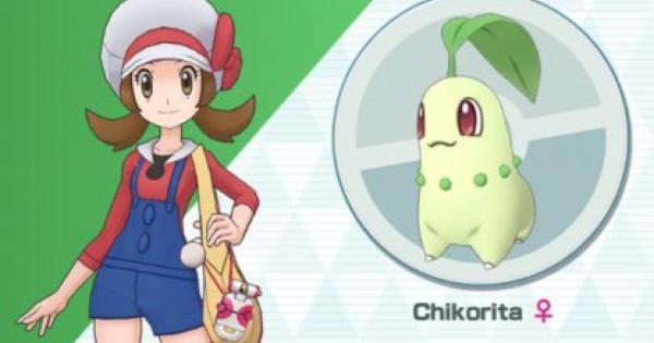 Masters Pokémon | Lyra & Chikorita – Sync Pair Statistiques et mouvements