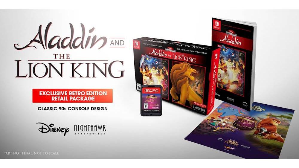 Terminer les jeux Disney Classic: Aladdin et le roi Lion Guide de précommande