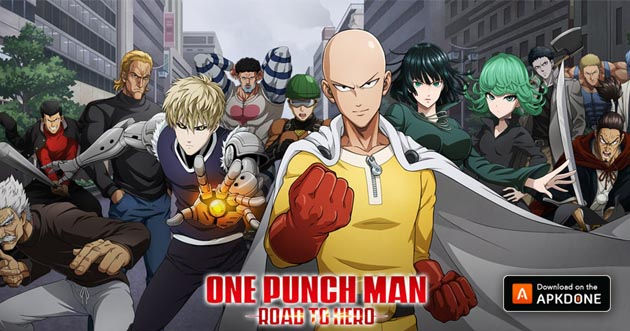 One Punch Man: Road to Hero APK + OBB v1.6.0 pour Android – Télécharger