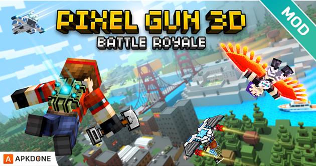 Pixel Gun 3D MOD APK v16.8.1 (Or illimité / Balles) pour Android – Télécharger