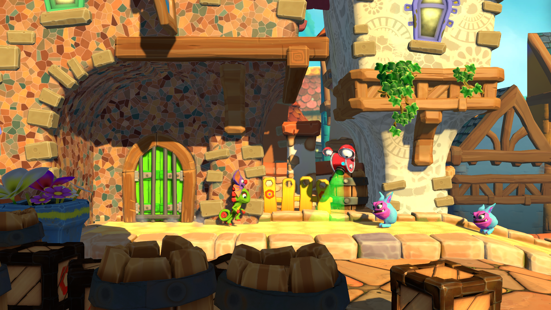 Yooka-Laylee et l'impossible Lair Screenshots