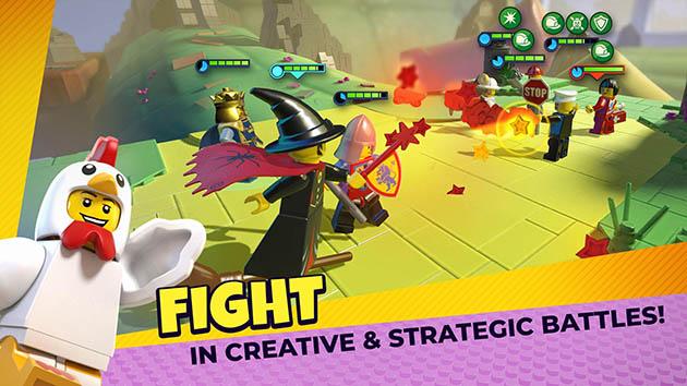 LEGO Legacy: Heroes Unboxed capture d'écran 1