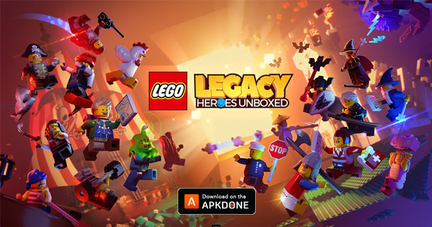 Affiche LEGO Legacy: Heroes Unboxed