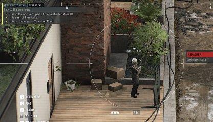 Éliminer la garde par la porte