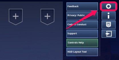 Fortnite Comment modifier les paramètres sur iOS et Android