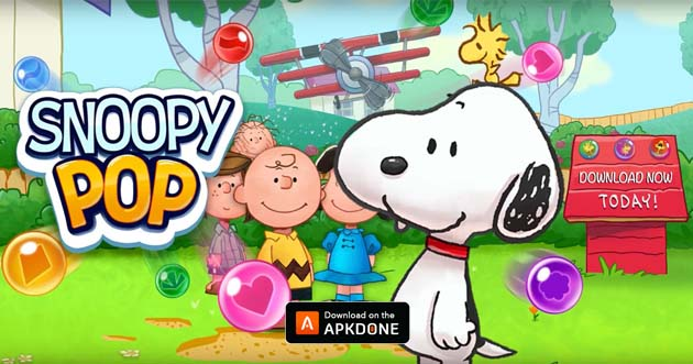 Affiche Snoopy Pop