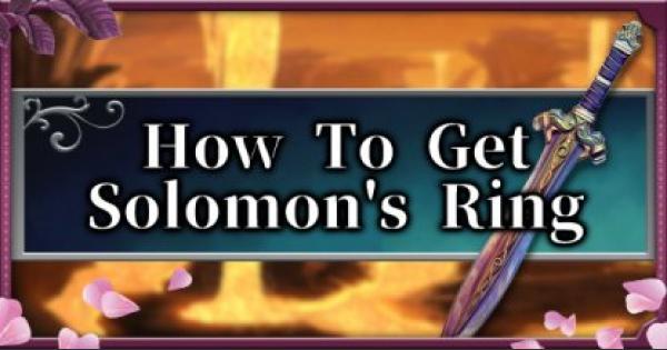 Bloodstained | Comment obtenir l'anneau de Solomon – Liste de quête et récompenses | Rituel de la nuit