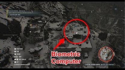 Salle de contrôle est à côté de l'annexe bâtiment