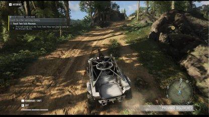 Vous pouvez utiliser un véhicule pour vous y rendre