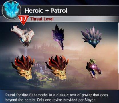 Héroïque + Behemoths Variante