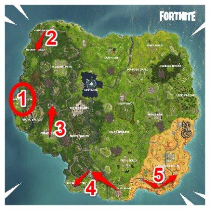 Recherchez 7 boîtes de munitions en un seul match