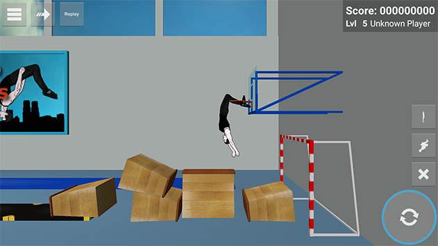 Backflip Madness capture d'écran 2