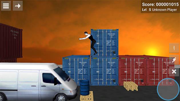 Backflip Madness capture d'écran 3