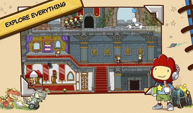 Scribblenauts Unlimited capture d'écran 2