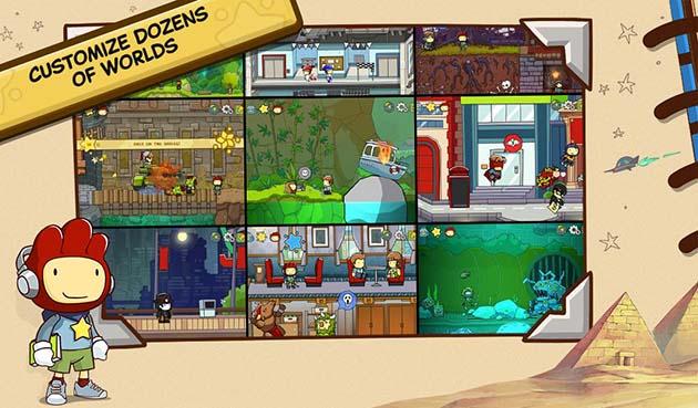Scribblenauts Unlimited capture d'écran 3