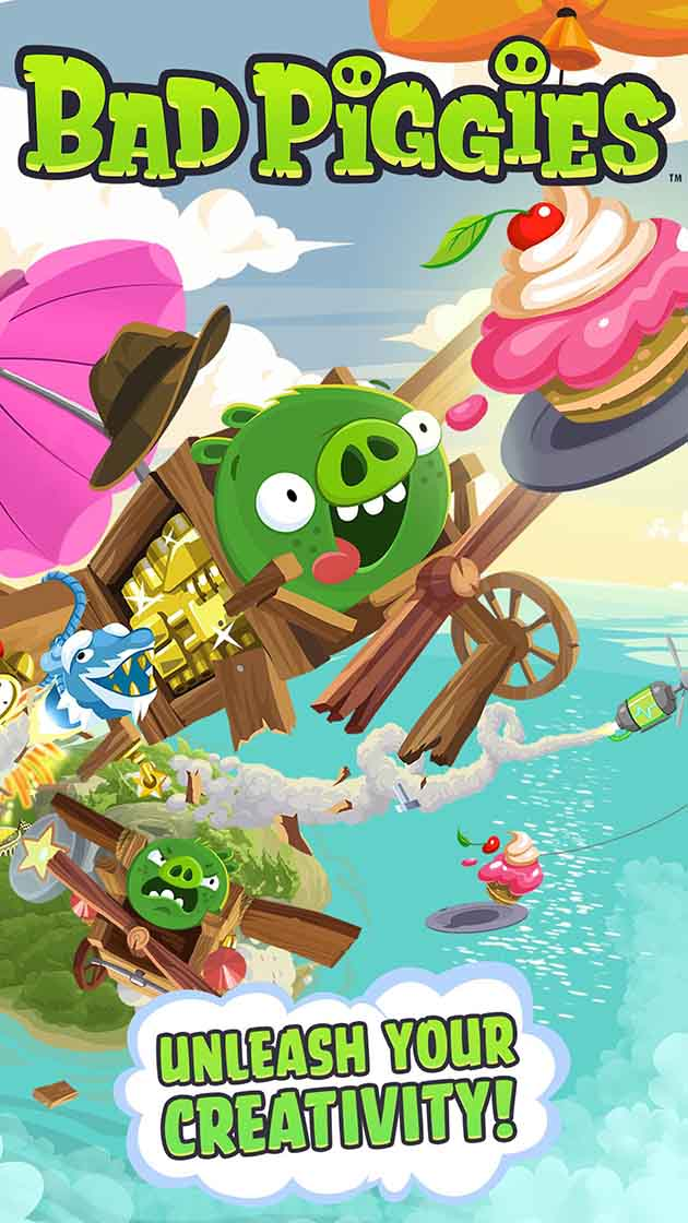 Bad Piggies capture d'écran 1