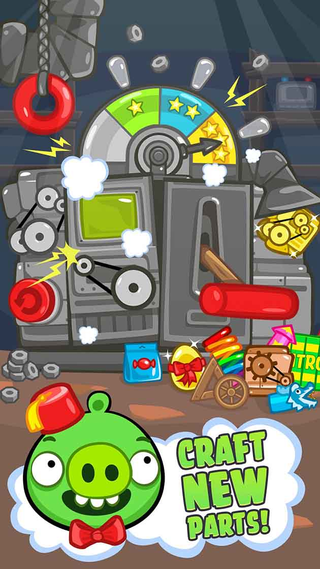 Bad Piggies capture d'écran 2