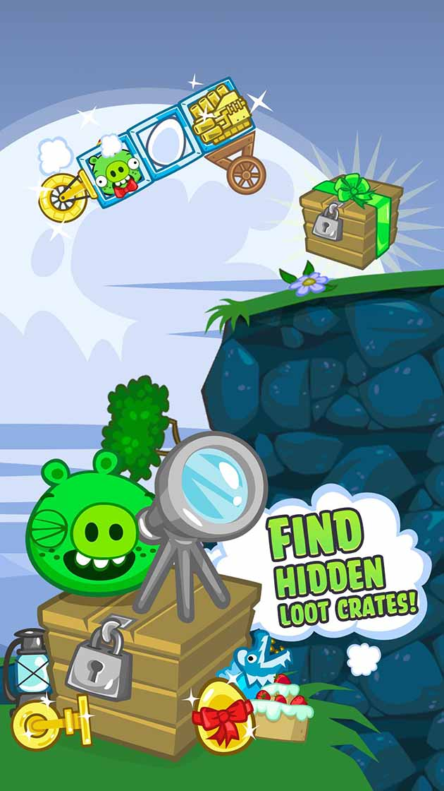 Bad Piggies Capture d'écran 3