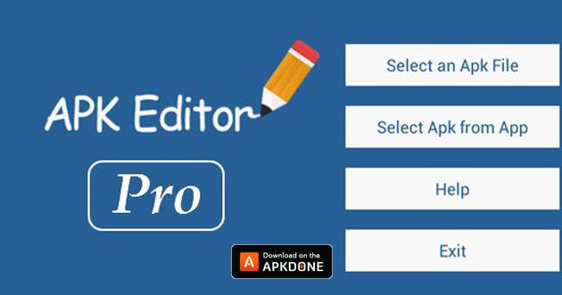 Affiche APK éditeur Pro